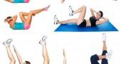 Плоский живот за одну неделю: упражнения