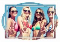 Фотографии девушек на пляжах мира