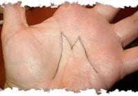 Что может означать буква М на ладони? Ответ