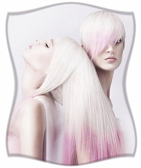 Обесцвечивание волос.