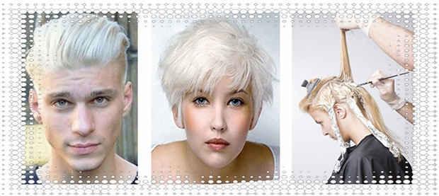 Осветление женских и мужских волос