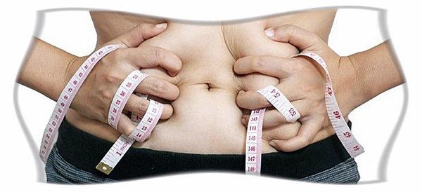 как сбросить жир на животе