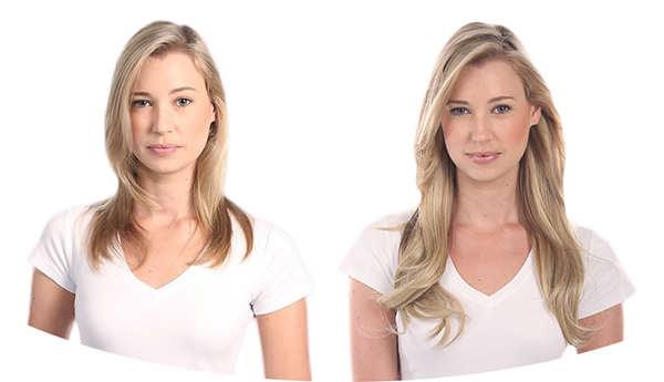 Рост волос До и После