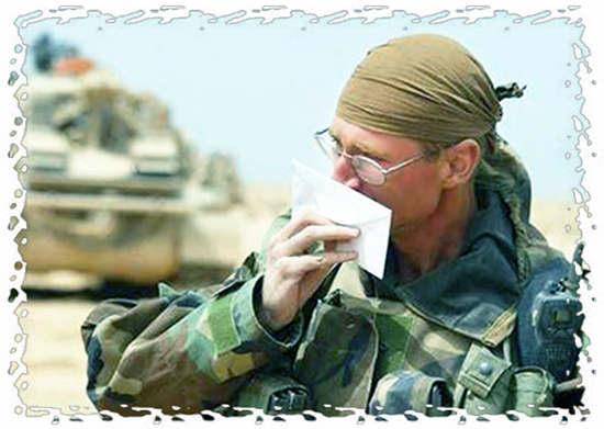 как правильно написать не знакомому солдату письмо