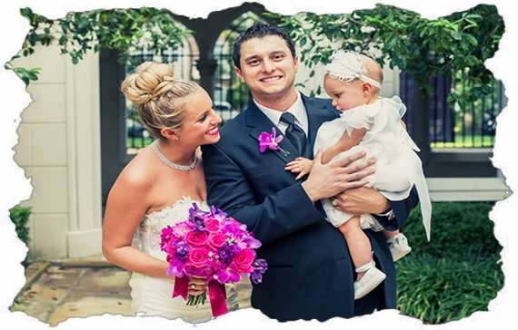 Невеста с ребенком