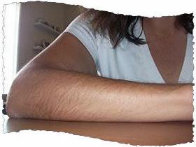 Женские руки волосатые
