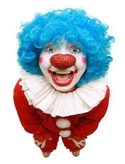 Клоун с приколами