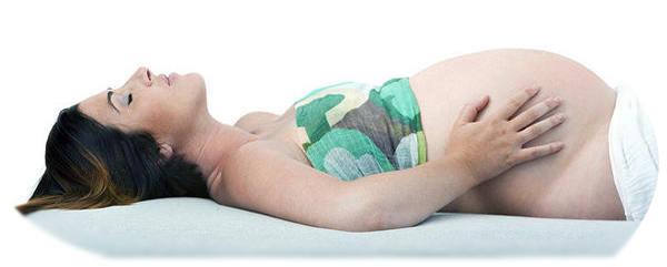 Если беременная лежит на спине 82