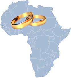 Африканские кольца