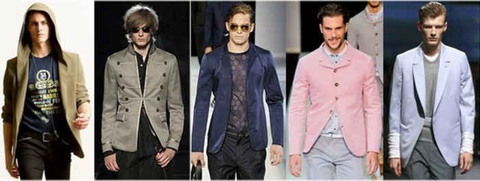Фасоны одежды для мужчин