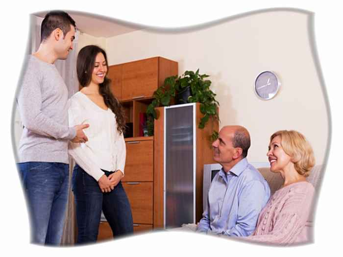Знакомство с родителями мужчины
