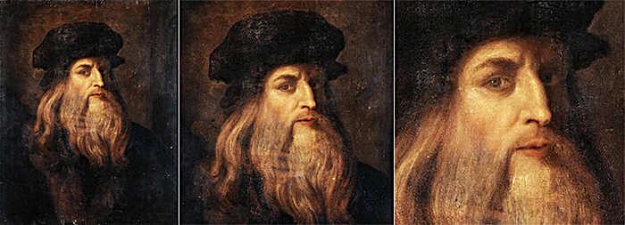 Картины Леонардо да Винчи в галерее Уффици