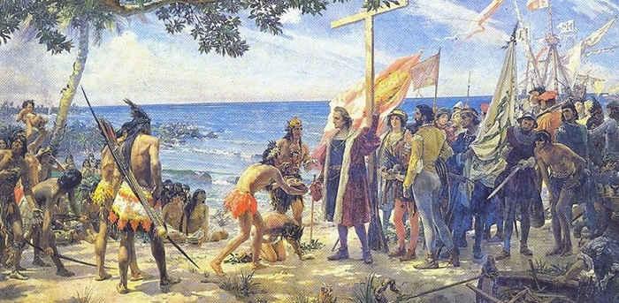 Картинки по запросу 1492 Экспедиция Христофора Колумба достигла острова Сан-Сальвадор (официальная дата открытия Америки)