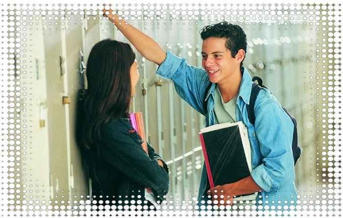 как познакомиться с девушкой в школе